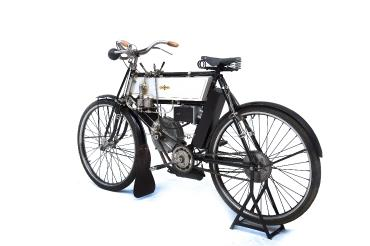 Prince Albert 1st Moto Humber 350cc 1902