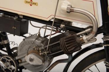 Moto Humber 350cc 1902 du Prince Albert 1er